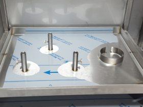 Special RVS transport bioreactor houder frame