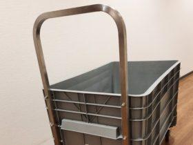 Duwbeugel van Minipalletbox