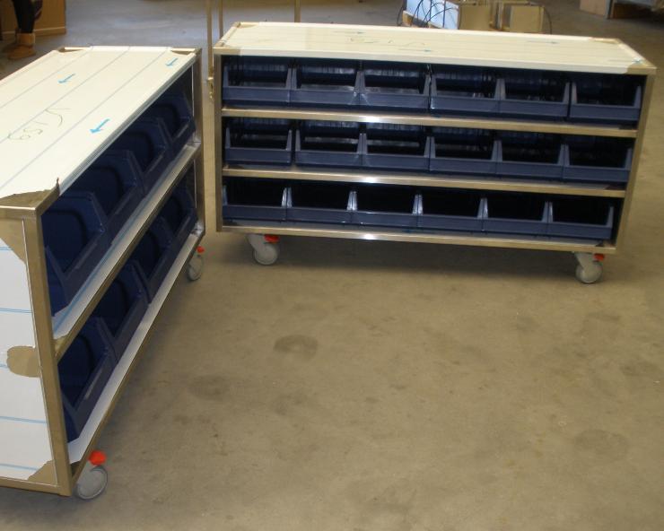 RVS Special Laboratorium kast